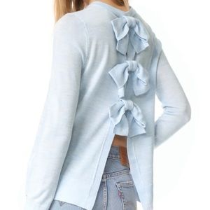 Club Monaco Keena bow back sweater